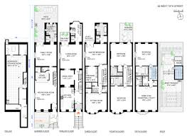 Nyc Brownstone Floor Plans Film Producer Bob Weinstein Sells 18m Uws Brownstone Streeteasy