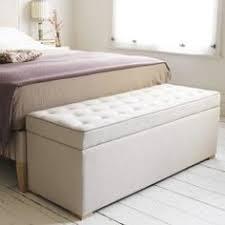 Fabric Ottoman Storage Sleep Sanctuary Kaydian Walkworth Ottoman Storage Bed White