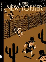 new yorker thanksgiving cartoon this week u0027s new yorker cover postcards of the hanging