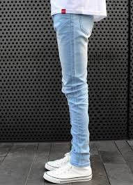 mens light blue jeans skinny free shipping fashion style spring autumn men skinny jeans