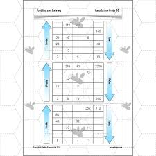 ks2 doubling and halving worksheets planbee complete series