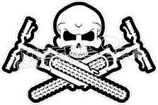 mountain bike skull cross bones decal sticker decalmonster com