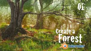 how to create a forest in blender custom trees 1 of 6 youtube