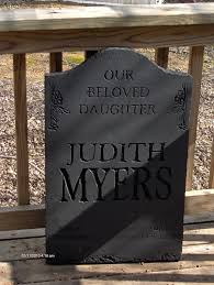 Easter Decorations Myer by Replica Halloween Tombstone Michael Myers On Etsy 50 00