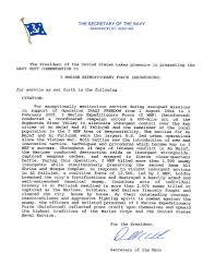 Letter Of Commendation File 1st Marine Expeditionary Force I Mef Navy Unit Commendation