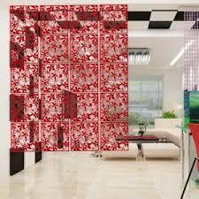 Diy Hanging Room Divider Interior Yazi 4pcs Butterfly Flower Bird Diy Hanging Screen Panel