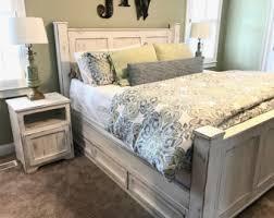 cherry storage bed platform bed no 2 modern wood bed