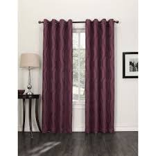 Magenta Curtain Panels Red Grommet Curtain Panels Target