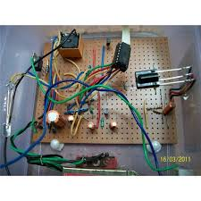 simple remote controlled fan regulator circuit electronic