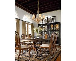 castillian double pedestal table dining room furniture