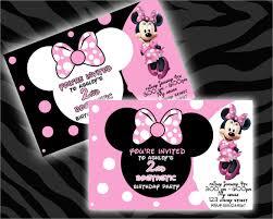 23 minnie mouse birthday invitation templates u2013 free sample