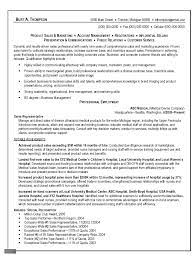 Resume Sle For resume in representative sales representative lewesmr