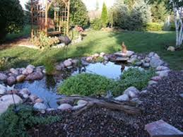 Backyard Pond Building Tips On How To Build A Backyard Pond House Exterior And Interior