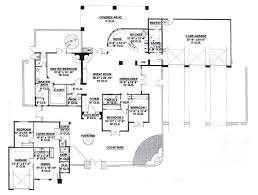 adobe southwestern style house plan 4 beds 3 50 baths 3176 sq