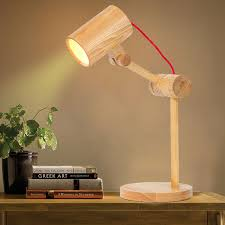 Bamboo Desk Lamp Rustic Table Lamps Ideas Modern Wall Sconces And Bed Ideas