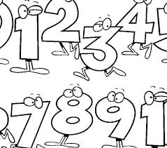 preschool coloring pages with numbers numbers for kids printables number worksheets toddlers preschool and