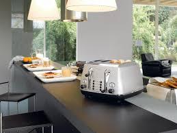 Italian Toaster Icona Silver 4 Slice Toaster Cto4003w Delonghi