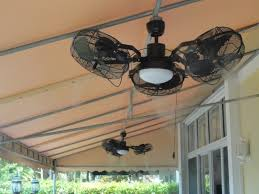 Commercial Outdoor Ceiling Fans by The Misting Store Tri Mist Misting Cooling Celling Fans Get A