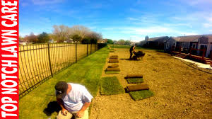 how to install sod timelapse lawn care vlog 111 youtube