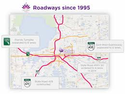 Map Of Florida Turnpike by Commercial Developments Ocoee Fl Official Website