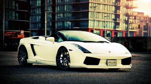white lamborghini gallardo white lamborghini gallardo spyder city photo wallpaper 1920x1080