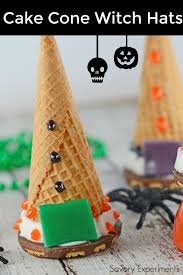 Halloween Witch Cake by Cake Cone Witch Hats Savory Experiments