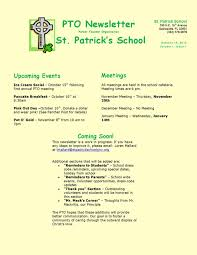 st patricks newsletter template download free u0026 premium