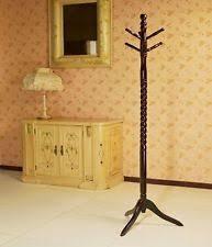 standing wood coat rack ebay