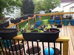 customize balcony planters for railing decoration outdoor deck