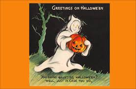 Funny Halloween Poems For Kids Vintage A Thrilling Halloween Card Saying Halloween Funny