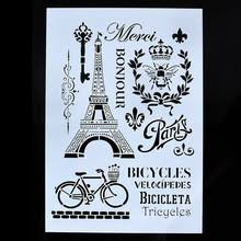 Embossing Templates Card Making - popular wall painting templates buy cheap wall painting templates