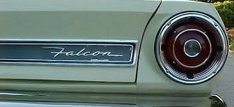 ford falcon tail lights 1967 grille tail light and fender god i love the falcon script i