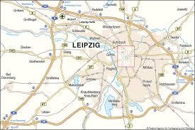 map of leipzig leipzig map