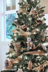my woodland christmas tree reveal woodland animals christmas