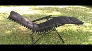 Lafuma Anti Gravity Chair Leżak Lafuma Evolution Ac Kolor Black Www Sonpol Eu Youtube