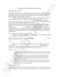 chemistry 130 lab final study guide docx chemistry 130 with