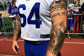tattoos of the nfl and the stories behind the ink si com