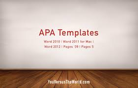 apa template for apple pages apa templates you versus the world