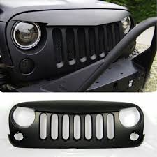 jeep wrangler front grill chuang qian angry birds front grille grid grill matte black for jeep