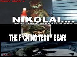 Meme Teddy Bear - nz a nikolai and teddy bear meme by josael281999 on deviantart