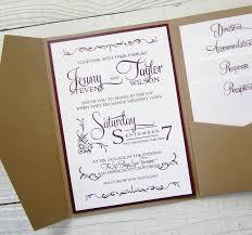 pocket wedding invitation kits blank pocket wedding invitation kits archives wedding invitation