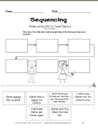 kindergarten sequencing worksheets mreichert kids worksheets