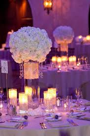 reception centerpieces purple wedding reception centerpiece ideas wedding centerpieces