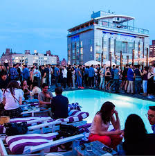 gq and orlebar brown host pool party at soho house the knockturnal