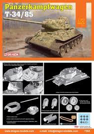 T 72 Interior New Releases In Dragon Plastic Model Kits