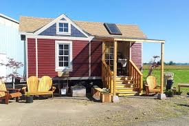 new tiny house village under construction in oregon curbed