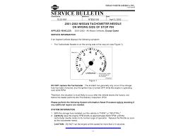 tachometer reset