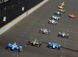 pole sitter scott dixon car crash at indy 500 2017