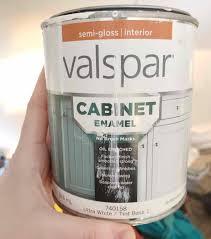 best valspar white paint for kitchen cabinets valspar cabinet enamel paint review this 5