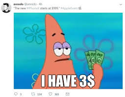 Newest Meme - apple s pricey new â 999 iphone x sparks hilarious memes â but